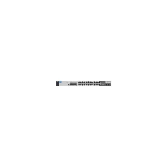 HP ProCurve Switch 1700-24 - Switch - 22 ports - EN, Fast EN - 10Base-T, 100Base-TX + 2x10/100/1000Base-T/SFP (mini-GBIC)
