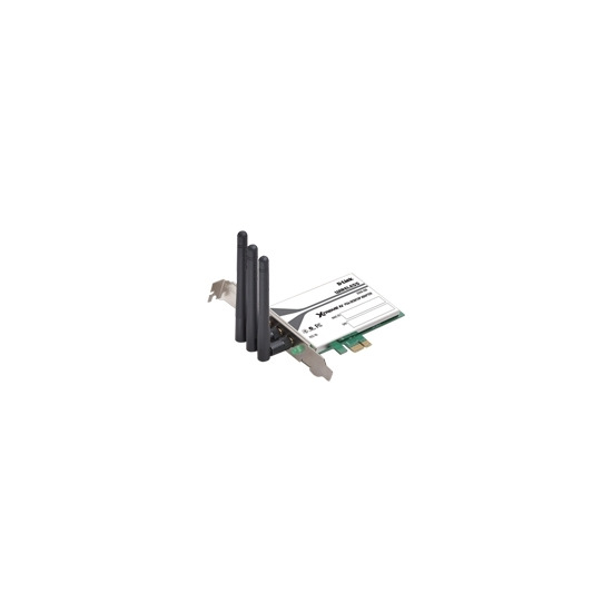D-Link Xtreme N PCI Express Desktop Adapter DWA-556 - Network adapter - PCI Express x1 - 802.11b, 802.11g, 802.11n (draft)