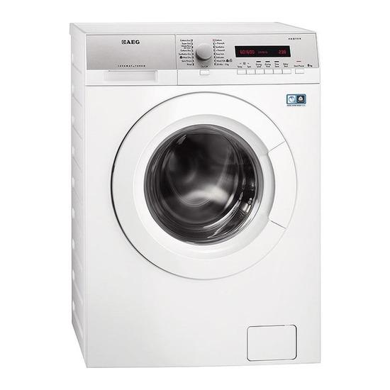 AEG L76680WD Washer Dryer - White