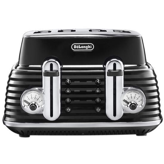 Delonghi CTZ4003 Scultura Four Slice Toaster