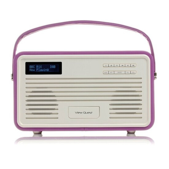View Quest Retro DAB Radio