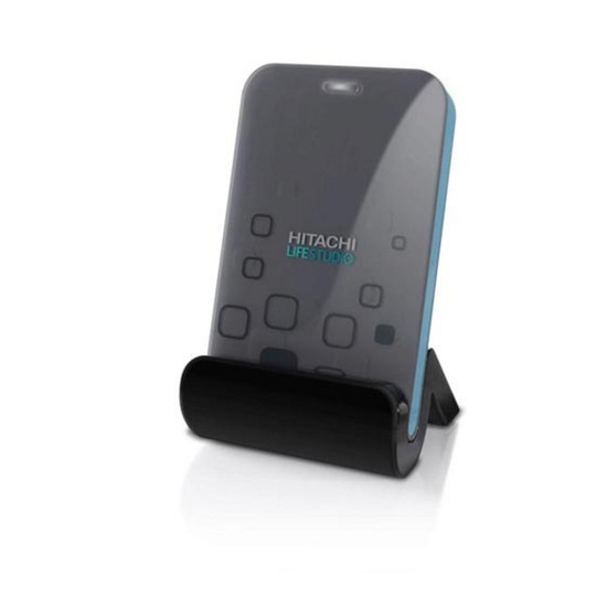 HITACHI LifeStudio Mobile Hard Drive - 320GB