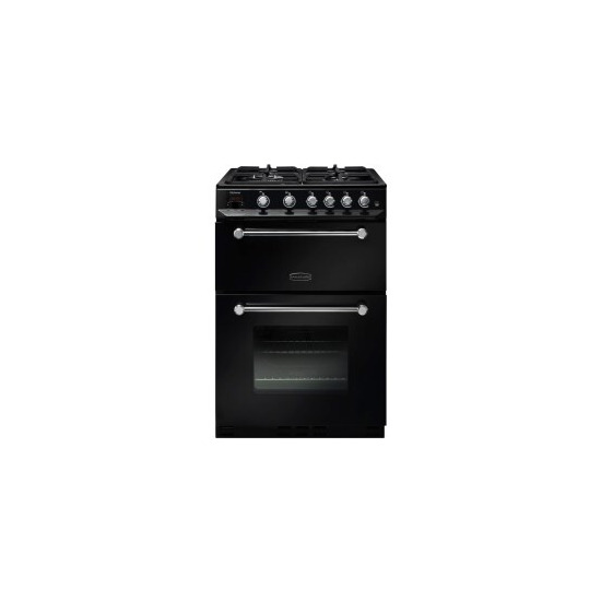 Rangemaster 10725 Kitchener 60cm Gas Cooker And Chrome