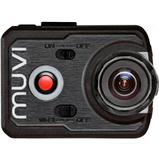 MUVI K-Series K2 Action Camcorder - Black