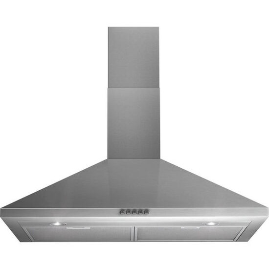 Indesit IHP945CMIX Chimney Cooker Hood - Stainless Steel