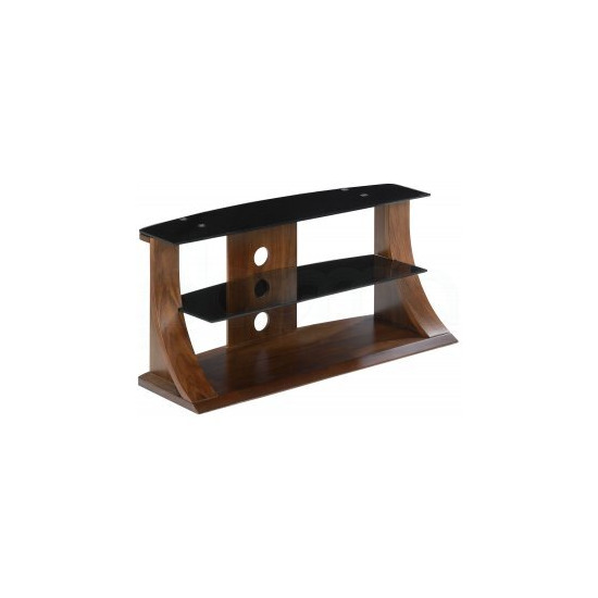 Jual JF201 1100 Curve Glass TV Stand