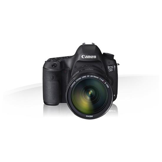 Canon EOS 5D MKIII Digital SLR Body + Canon EF 24-70mm f/2.8L II USM Lens