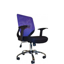Alphason Atlanta Mesh Operator Chair - Purple Reviews