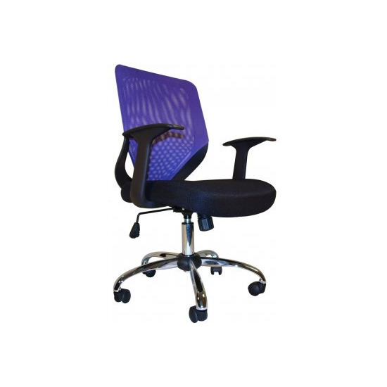 Alphason Atlanta Mesh Operator Chair - Purple