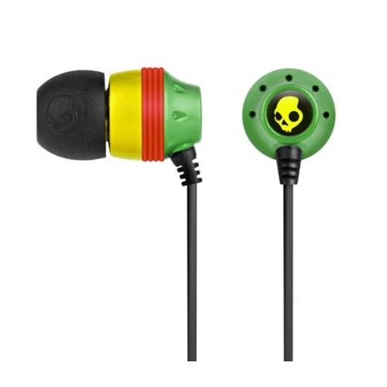 SKULLCandy Ink'd Headphones - Rasta