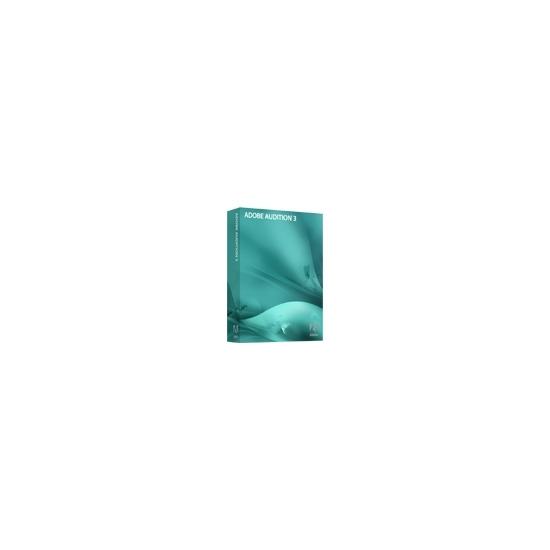 Adobe Audition - ( v. 3 ) - complete package - 1 user - DVD - Win - International English