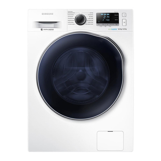 Samsung ecobubble WD80J6410AW