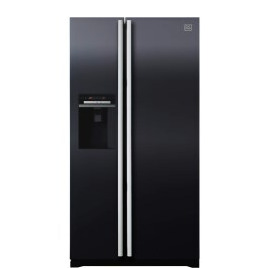 Daewoo FRAX22D3B Side-by-side American Fridge Freezer With Frameless Ice And Water Dispenser Black Reviews