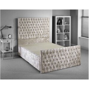 Photo of Luxan Provincial Bed Frame - Cream - Superking 6FT Furniture