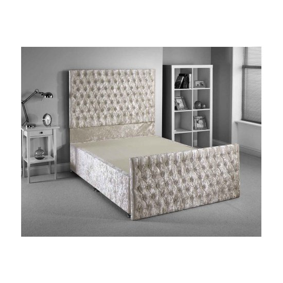 Luxan Provincial Bed Frame - Cream - Superking 6ft