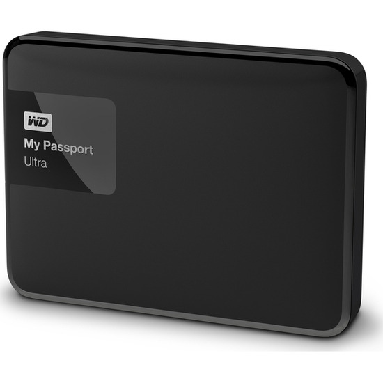 My Passport Ultra Portable Hard Drive - 3 TB, Black