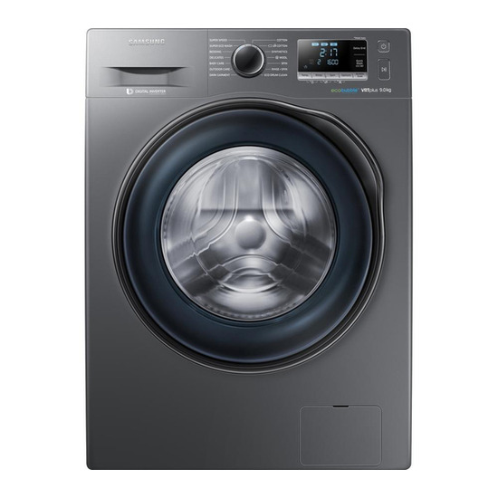 Samsung ecobubble WW90J6610CX Washing Machine - Graphite