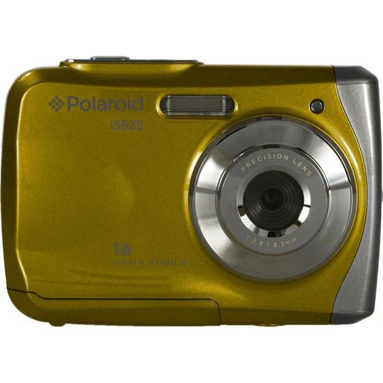 Polaroid IS525 Tough Compact Camera - Yellow