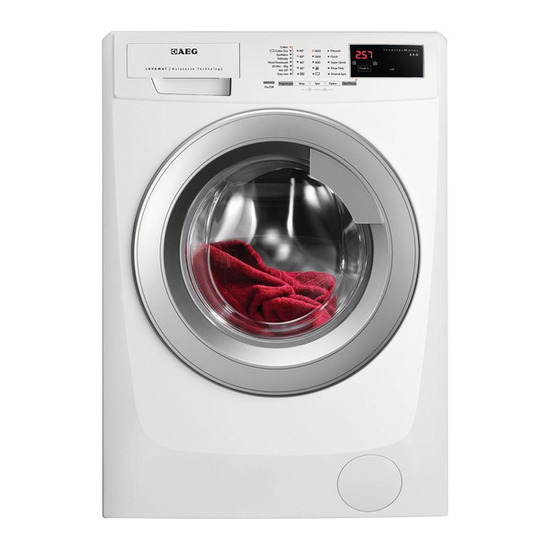 AEG L69680VFL Washing Machine - White