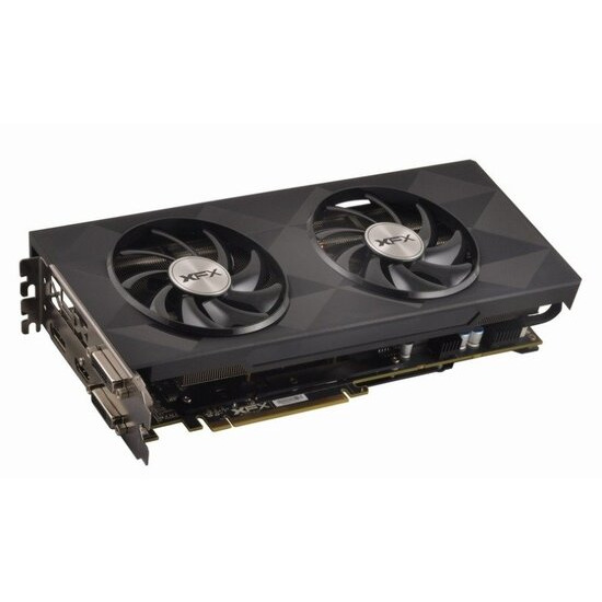 XFX Radeon R9 390X BLACK EDITION 8GB GDDR5 Dual DVI HDMI DisplayPort PCI-E Graphics Card