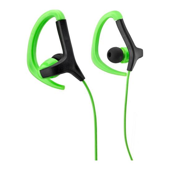 GHOOK15 Headphones - Green & Black