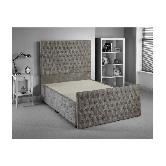 Luxan Provincial Bed Frame - Silver - Superking 6ft