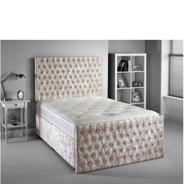 Luxan Provincial Bed Set - Silver - Double 4ft6 - 2 Drawers Reviews