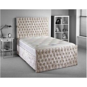 Photo of Luxan Provincial Bed Set - Silver - Double 4FT6 - 2 Drawers Furniture