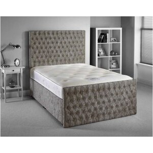 Photo of Luxan Provincial Bed Set - King 5FT - 2 Drawers Bedding