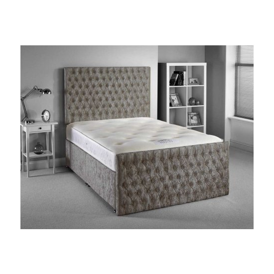 Luxan Provincial Bed Set - King 5ft - 2 Drawers