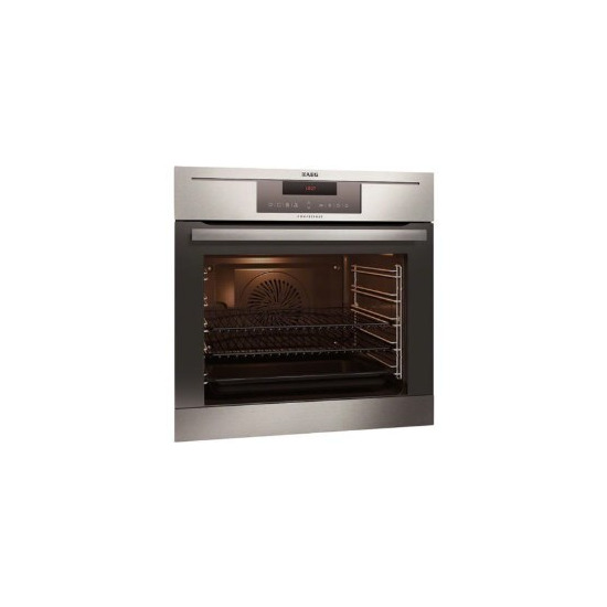 AEG BP730402KM COMPETENCE Electric Built Single Oven With PyroluxePlus Cleaning Antifingerprint Stainless Steel