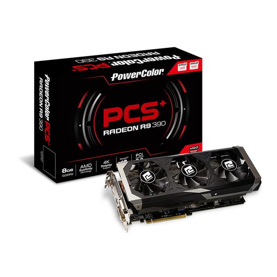 PowerColor Radeon™ PCS+ R9 390 8GB GDDR5