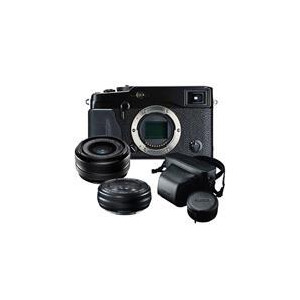 Photo of Fujifilm X-PRO1 Compact System Body + XF18MM + XF27MM Lenses Digital Camera