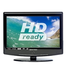 """DIGITREX CFD1571 Refurbished 15.6"""" HD Ready LCD TV with Built-in DVD Player Reviews"""