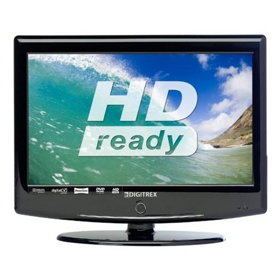"DIGITREX CFD1571 Refurbished 15.6"" HD Ready LCD TV with Built-in DVD Player"