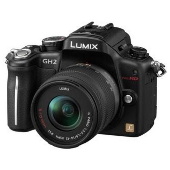 Panasonic Lumix DMC-GH2 with 14-42mm lens