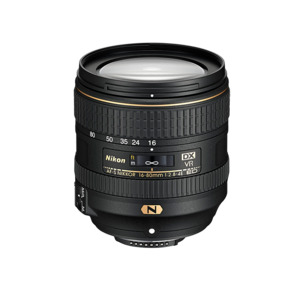 Photo of AF-S DX NIKKOR 16-80MM F/2.8-4E ED VR Lens