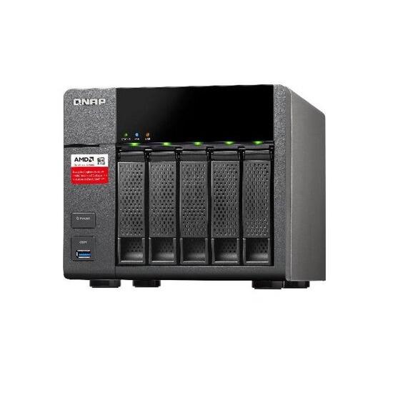 QNAP TS-563-2G DDR3 RAM (2GB x 1) 5 Bay NAS Enclosure
