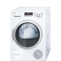 Bosch WTW85250GB Heat Pump Tumble Dryer - White Reviews
