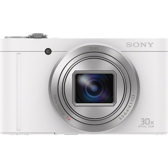 Sony Cybershot Sony Cybershot DSC-WX500W Superzoom Digital Camera - White