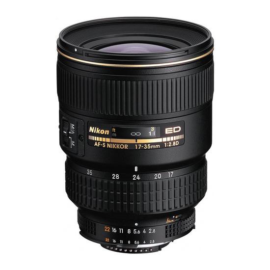 AF-S Zoom-NIKKOR 17-35 mm f/2.8D IF-ED Wide-angle Zoom LensNikon 28mm f/2.8D AF NIKKOR