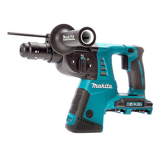 Makita DHR264Z 36V Cordless SDS+ Rotary Hammer (Body Only) - 2 x 18V