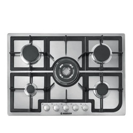 HOOVER HGH75SQCX Built-in Gas Hob - Stainless Steel Reviews