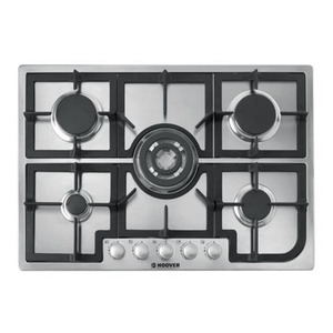 Photo of HOOVER HGH75SQCX Built-In Gas Hob - Stainless Steel Hob
