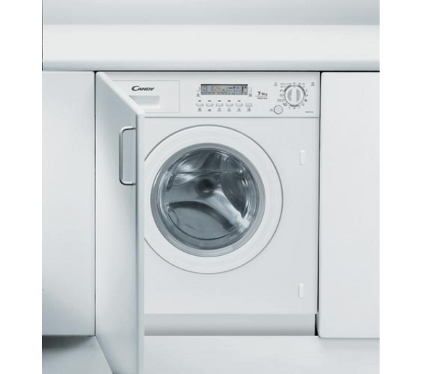 Best Integrated Washer Dryer 2017 Part - 46: CANDY CDB754D-80 Reviews