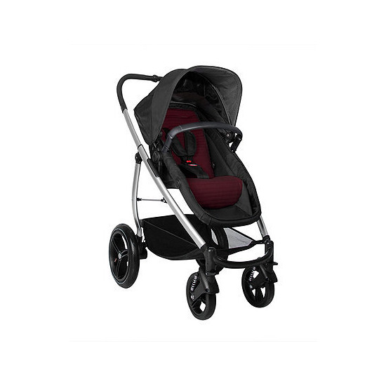 Phil and Teds Smart Lux Pushchair - Ruby