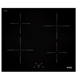 SMEG SI5641B SI5641D Cucina 60cm Straight Edge Glass Induction Hob With Touch Controls Reviews