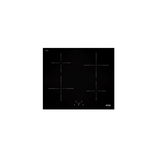 SMEG SI5641B SI5641D Cucina 60cm Straight Edge Glass Induction Hob With Touch Controls