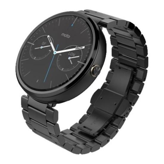 Moto 360 Smartwatch - Dark Chrome