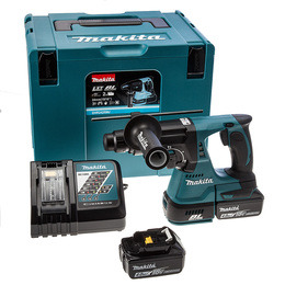Makita DHR242RMJ SDS Plus 3 Mode Rotary Hammer Drill with 2 4Ah Batteries Reviews